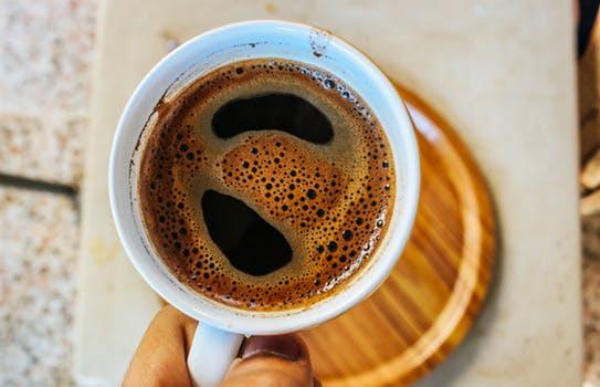 Mein morgendlicher schwarzer Kaffee