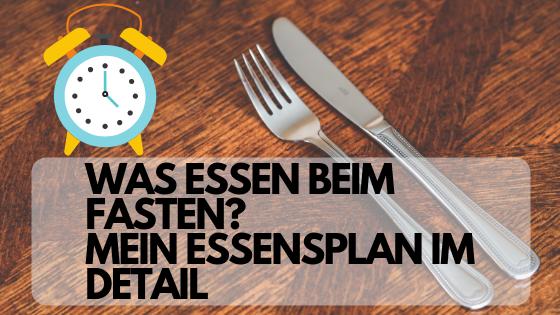 intervallfasten - Was essen?