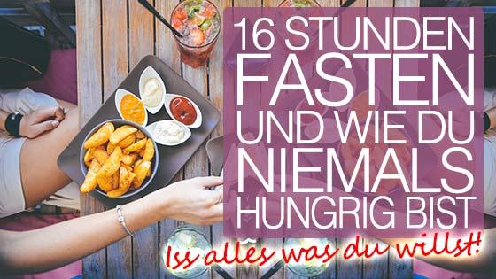 16 Stunden Fasten